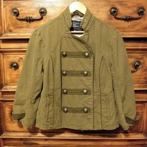 American Eagle Olive green military style Blazer